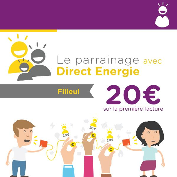 Testé et approuvé à la maison sur le gaz et l'électricité, 10% d'économies sur le tarif réglementé, 20€ offerts pour le filleul en suivant mon lien :)