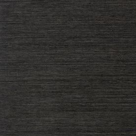 allen + roth Black Grasscloth Unpasted Textured Wallpaper - Lowes (!!!!)