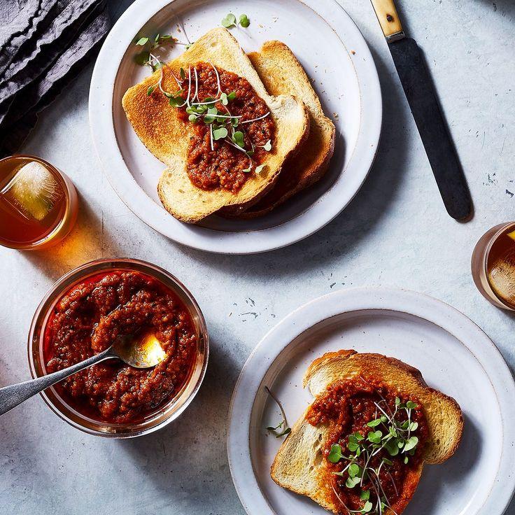 Tomato Relish with Smoked Jalapeño and Arbol Chile recipe on Food52