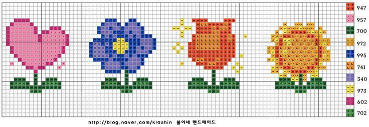 ▶ 십자수 도안, ♡ 봄이네 핸드메이드 ♡ : 네이버 블로그