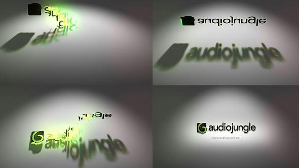Sliced Shadow Logo Reveal