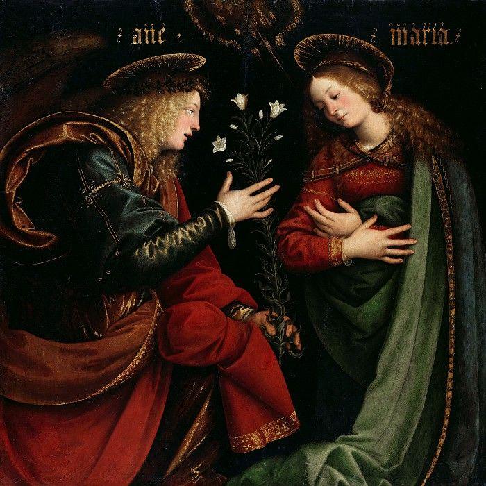 Феррари, Гауденцио (ок1475-1546) - Благовещение.