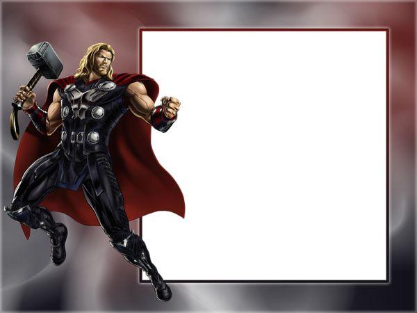 Thor Transparent Photo Frame