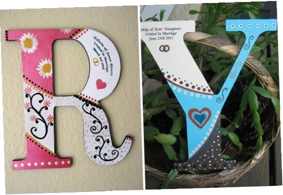 Wooden Letter Designs T49g Painted Wood Letters Ideas Painting