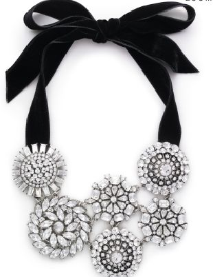 Kate Spade Ice Queen Bib Necklace - loving this gorgeous statement necklace!