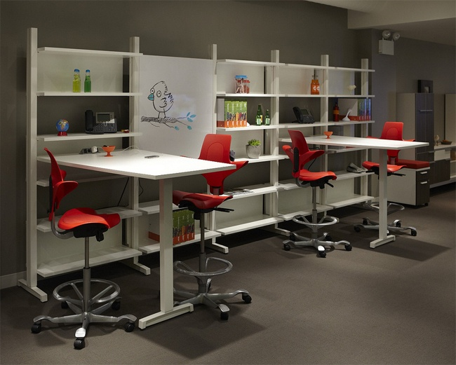 Collaborative Space, Office Decor, Office Furniture, Offices, Shelves, Hon Office  Furniture, Shelving, Bureaus, Desks