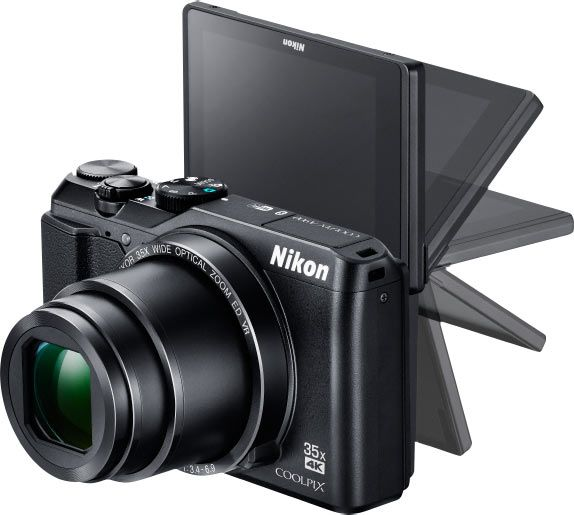 "Nikon Long-Zoom Compact COOLPIX Camera A900 (4K UHD Video at 30p, 35x Zoom, Lightweight & Pocketable): ""always on"" Connection, Easy Sharing & Transfering Images Via Nikon SnapBridge App"
