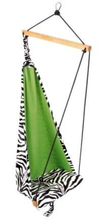 Dětské závěsné křeslo Mini hang zebra - Kliknutím zobrazíte detail obrázku.