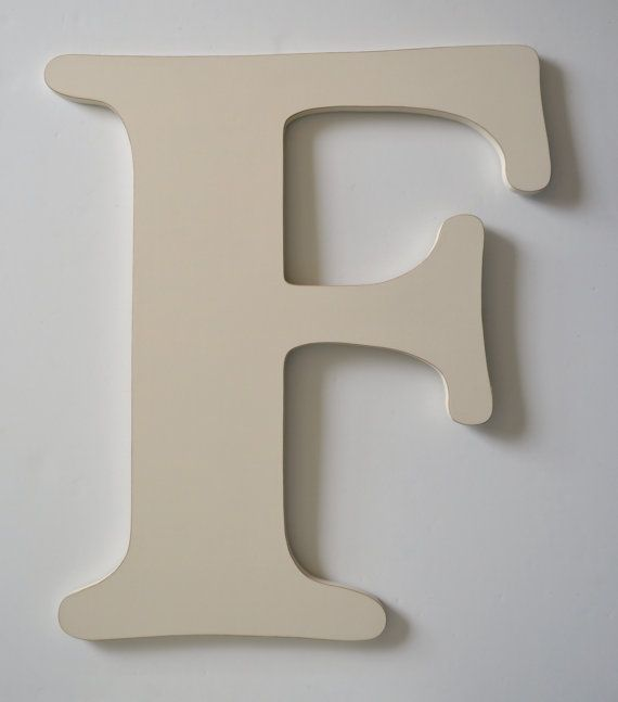 letter f 24 inch letter large wooden letter by alittlemiscellany