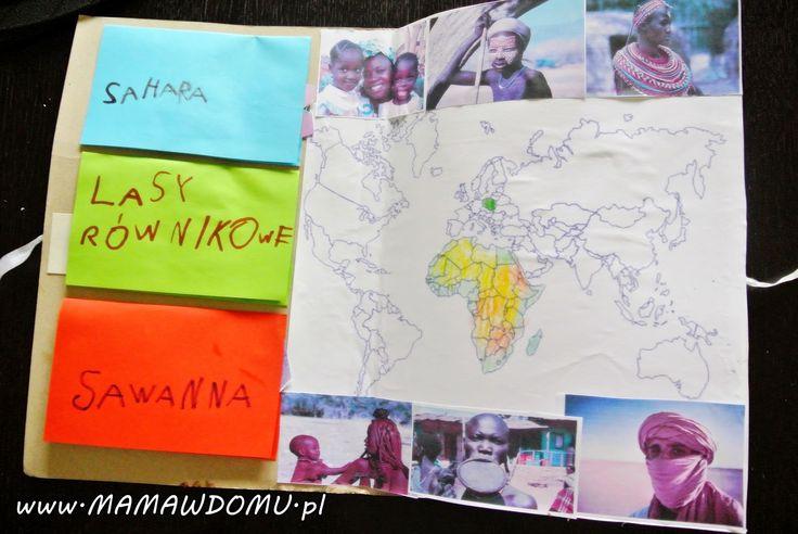 Lapbook Afryka