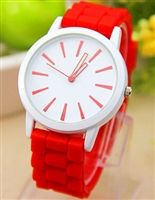 Gel watch in red from lovemisseve.com