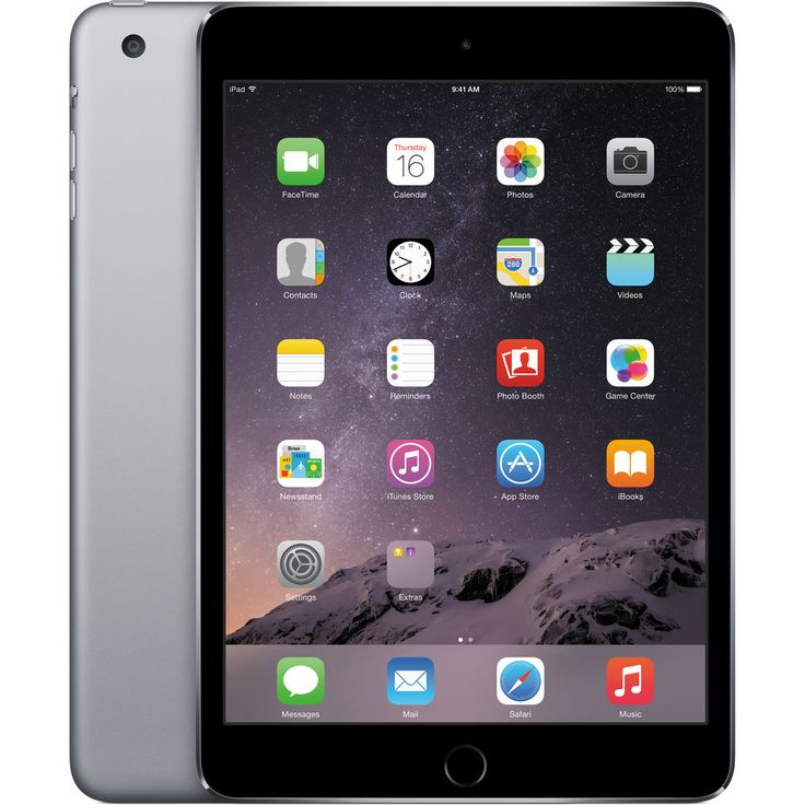 Image of Apple iPad Mini 3 64GB Wifi Tablet - Space Gray