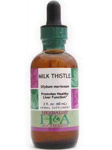 Herbalist & Alchemist- Milk Thistle Extract 2 oz