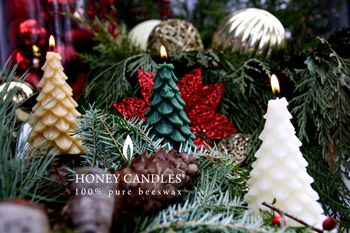 Charming Beeswax Candle Stocking Stuffers