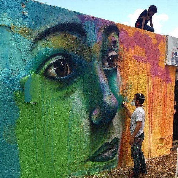 Street Art, by Joel Artista, in Israel