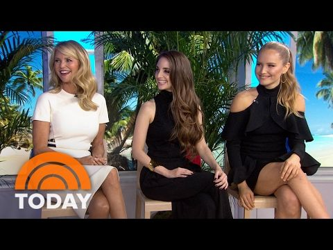 Christie Brinkley's Daughter Alexa: I Was Nervous Before Sports Illustrated Shoot | TODAY - YouTube