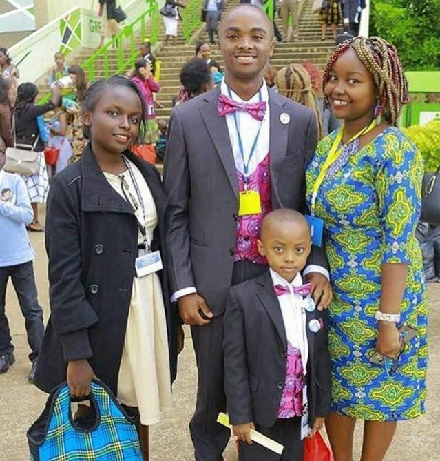 JW family in Kenya Africa