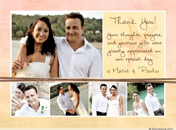 Best 25 Wedding Thank You Ideas On Pinterest