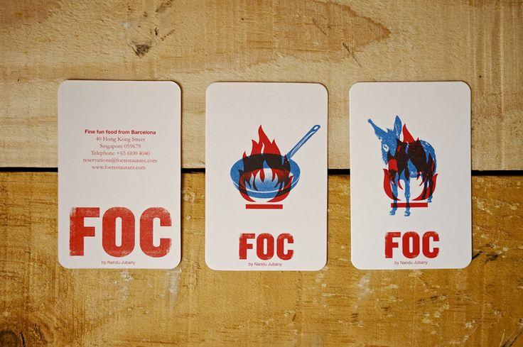 FOC by Nandu Jubany | Contact & Menu