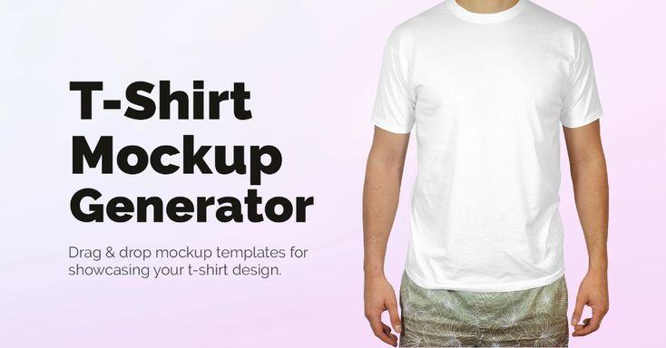 Showcase Your T Shirt Design With Our Easy To Use Shirt Mockup Generator Forget Photoshop And Preview Your T Shirt Shirt Mockup Tshirt Mockup Mockup Generator
