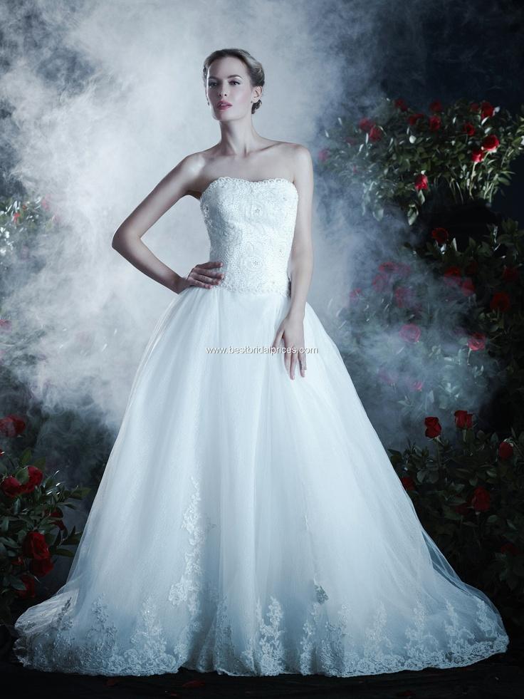 Anjolique Wedding Dresses - Style A454 [454] : Wedding Dresses, Bridesmaid Dresses and Prom Dresses at BestBridalPrices.com