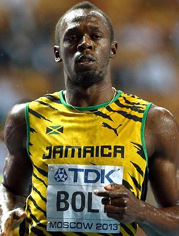 Usain Bolt shines again!