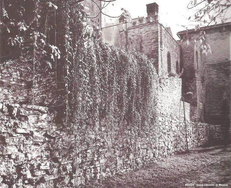 antiche mura del castello di mestre