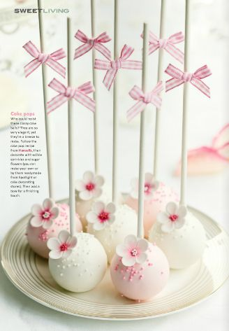 #cakepops - Sweet Living Magazine Issue 3