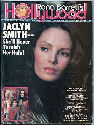 Rona Barretts Hollywood Magazine September 1977- Jaclyn Smith- Nick Nolte- Cher