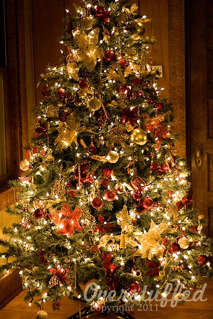 Professionally Decorated Christmas Trees   How to Decorate Your Christmas Tree: Part 2A   Overstuffed