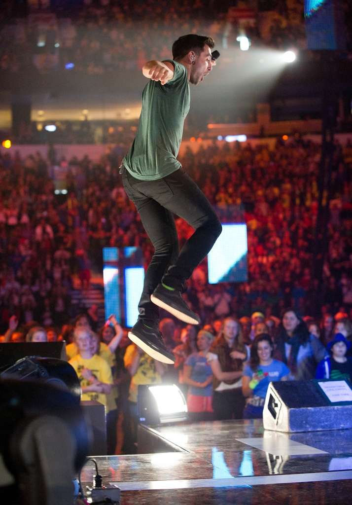 Hedley is such a big Free The Children ambassoder. He has performed at We Day for so long