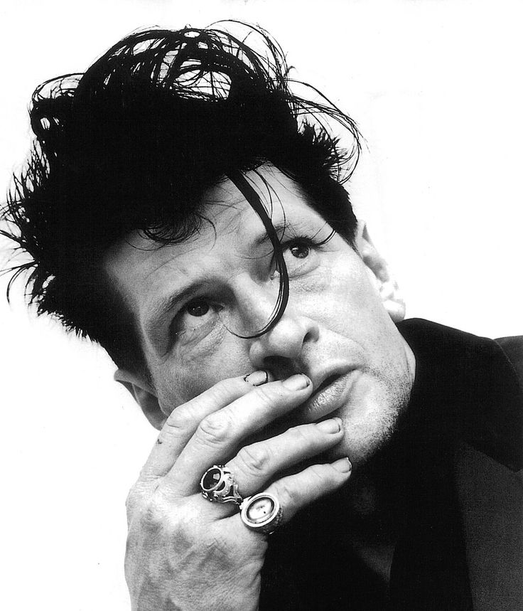 Herman Brood by Anton Corbijn