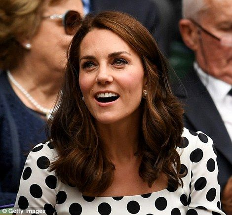 The Duchess of Cambridge is an avid tennis fan and even had a court built at her Amner Hal...