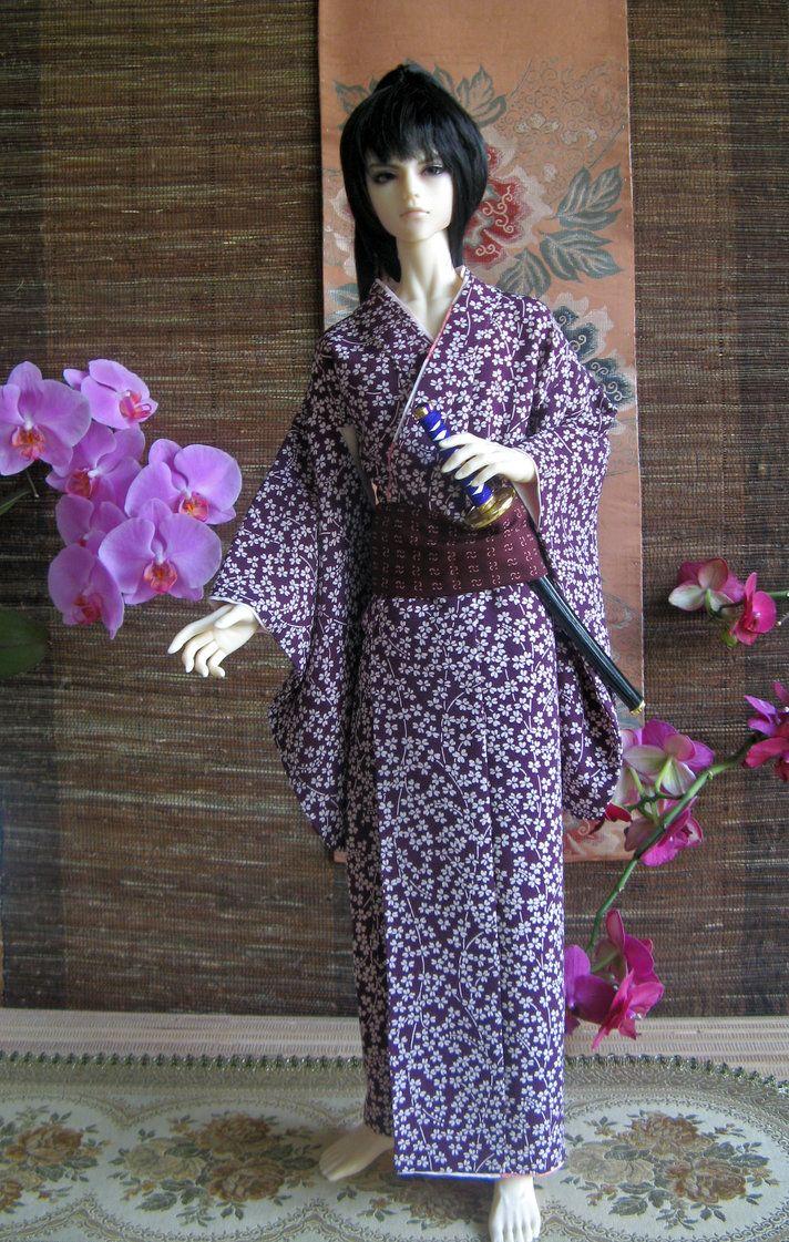 BJD kimono, Young Samurai by InarisansCrafts
