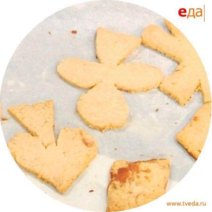 Печенье с имбирем, медом и лаймом