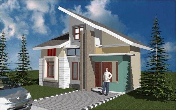 Atap Rumah Minimalis Miring