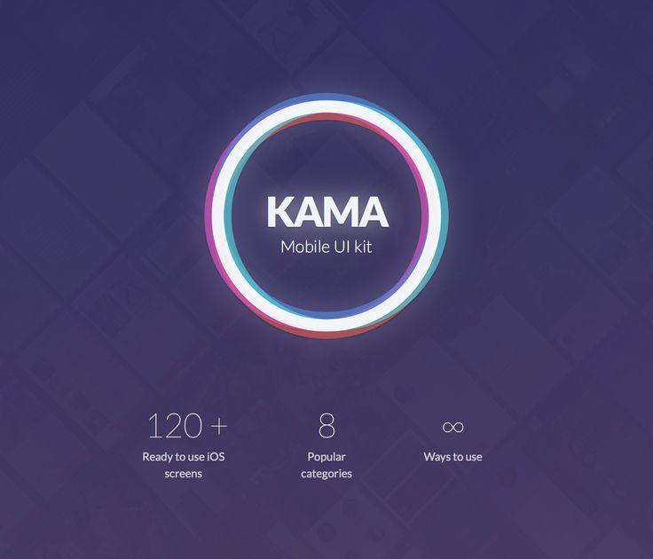 Kama - iOS UI Kit on Behance