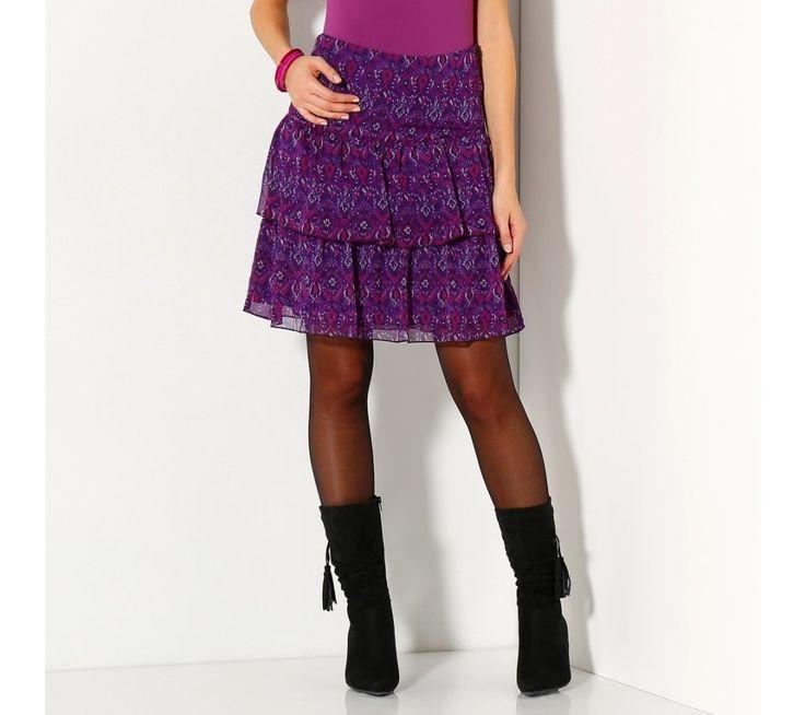 Volánová sukňa, kocka   vypredaj-zlavy.sk #vypredajzlavy #vypredajzlavysk #vypredajzlavy_sk #sako #sukne #vyprodej #slevy