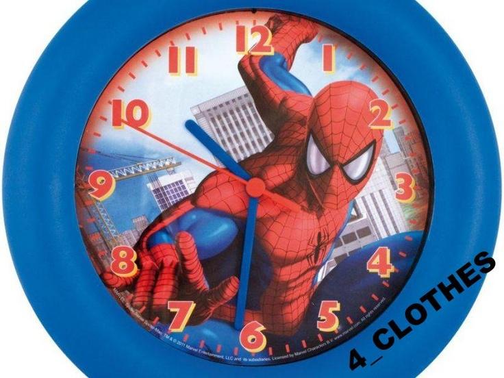 Zegar  ścienny Spiderman - Marvel (K WD 6313 SM)