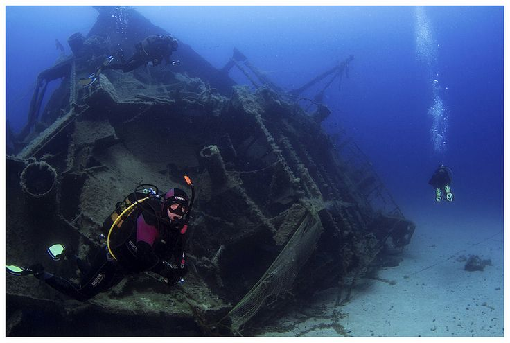 Kyra Leni wreck #diving #underwater #photography #greece #scuba #boatdive #athens