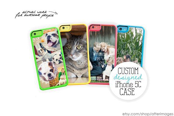 Custom iPhone 5C Case / Custom by afterimages, $19.99