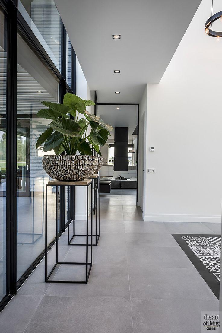 Strakke Interieur Ideeen.Een Ruim Huis Met Strak Design Modern Industrieel Inspiratie