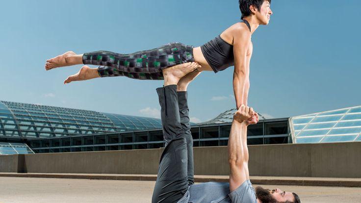 AcroYoga: watch these advanced yogis play   Acro Yoga ...