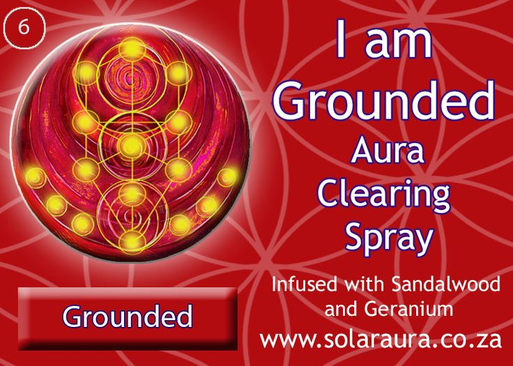 6-aura clearing spray grounded