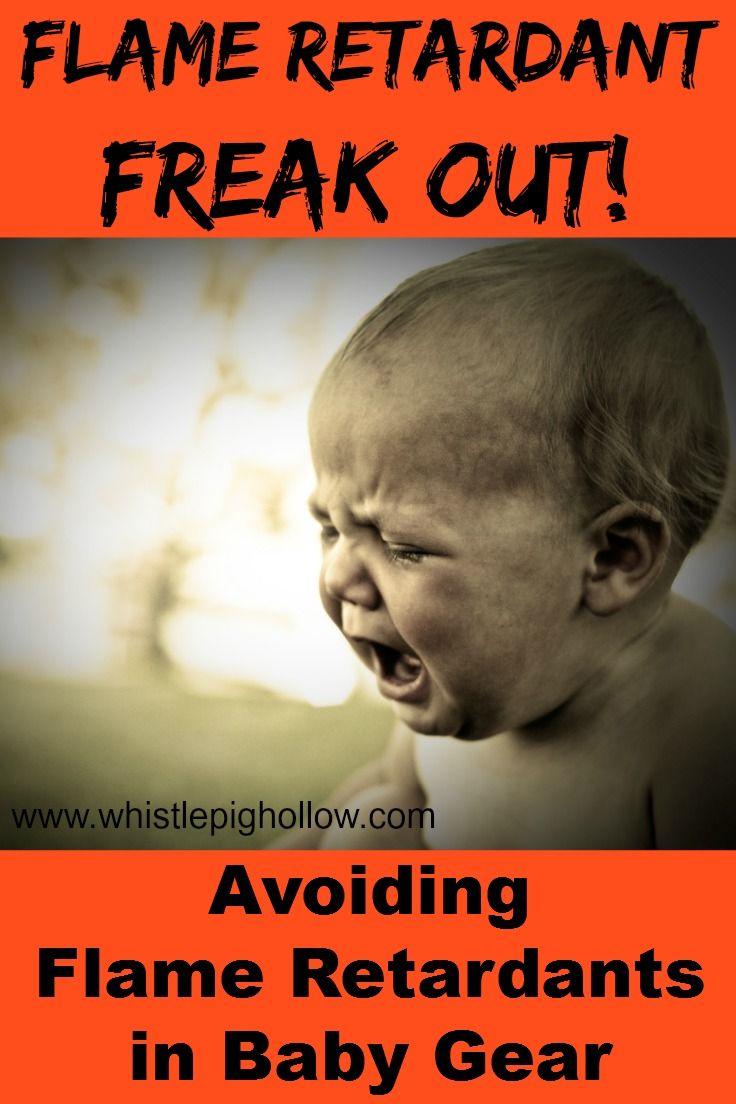 Flame Retardant Freak Out (Avoiding Flame Retardants in Baby Gear) | Whistle Pig Hollow