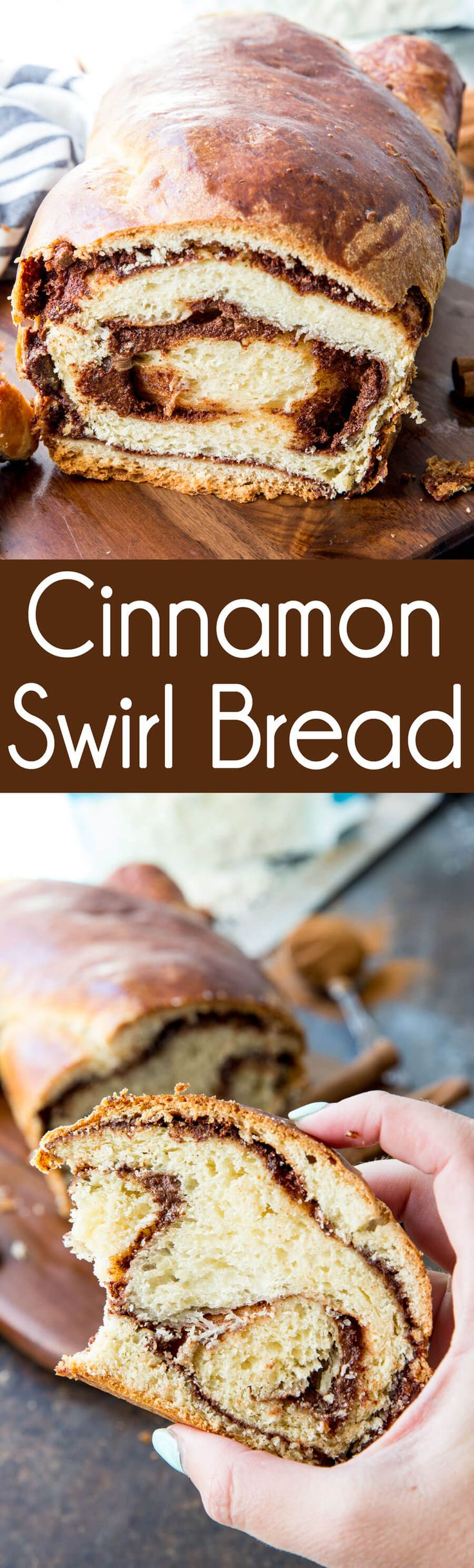 Cinnamon Swirl Bread tastes like it from the bakery and is SO easy to make! #ad