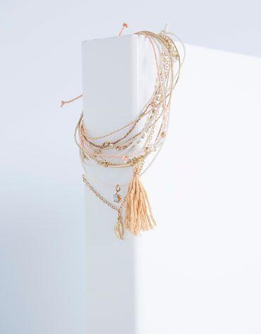 Bershka Ireland -Fine bracelet set 6.99€