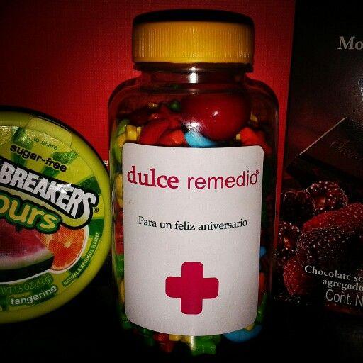 Dulce Remedio para un Feliz Aniversario #dulces