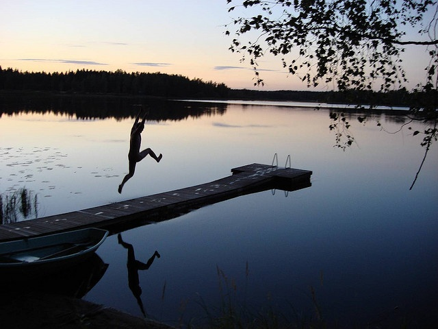 Try a sauna and then jump naked into a cold lake in Finlad.