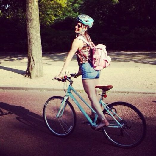 My bike and my favourite #Grafea bag to go with...